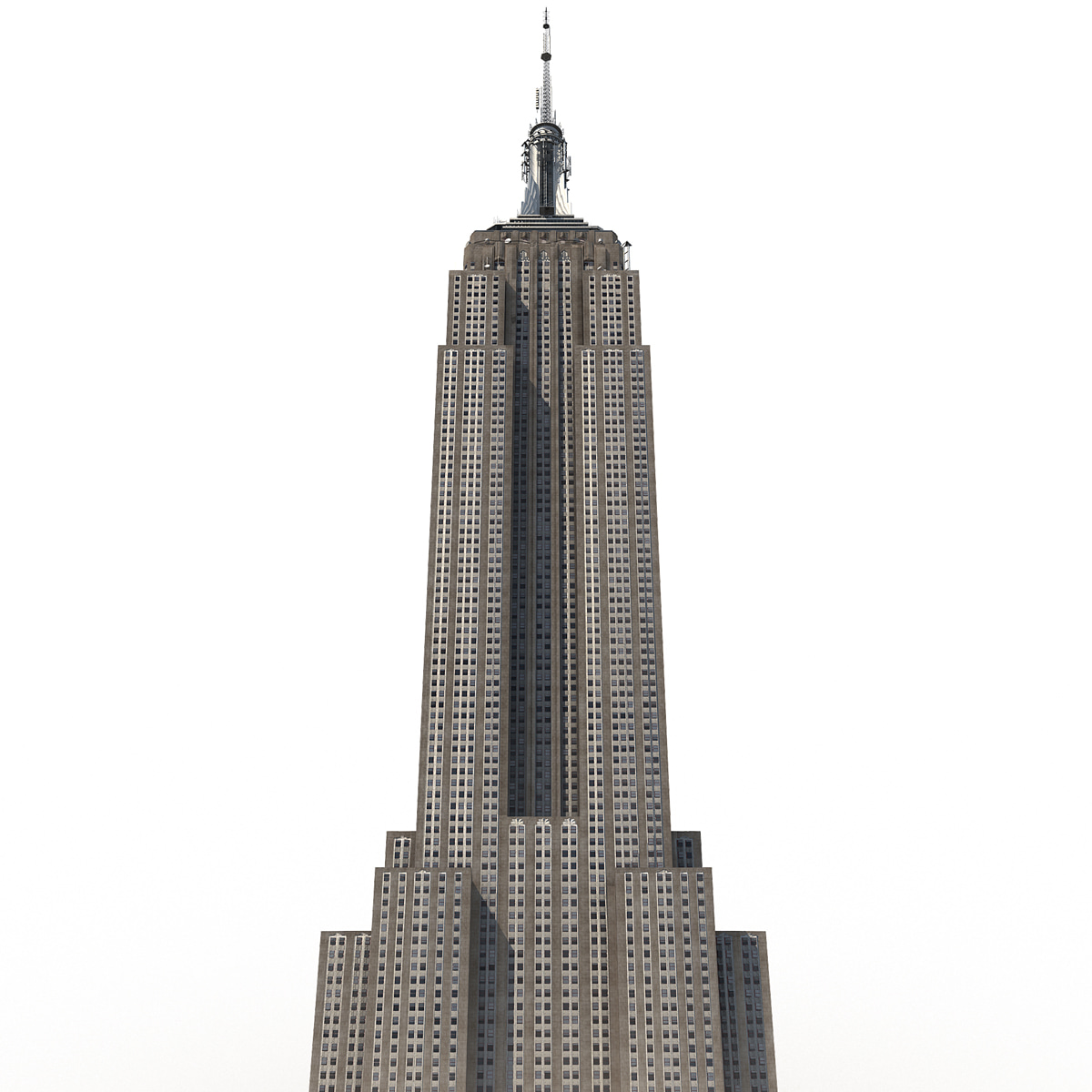Empire State Building Materials Used