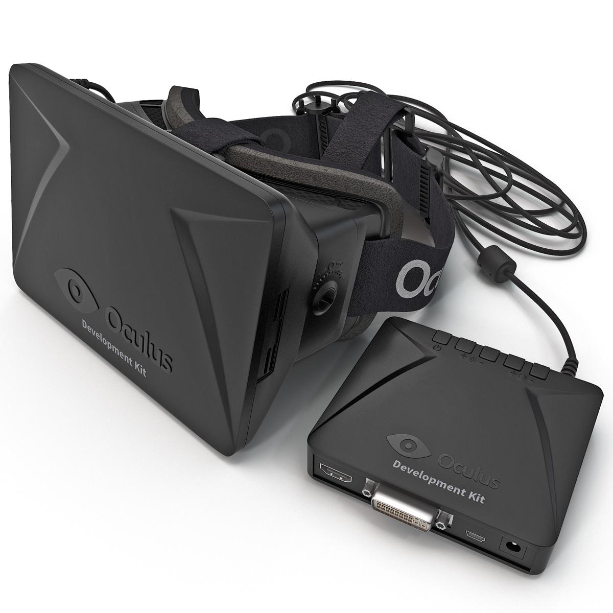 max oculus rift dev kit
