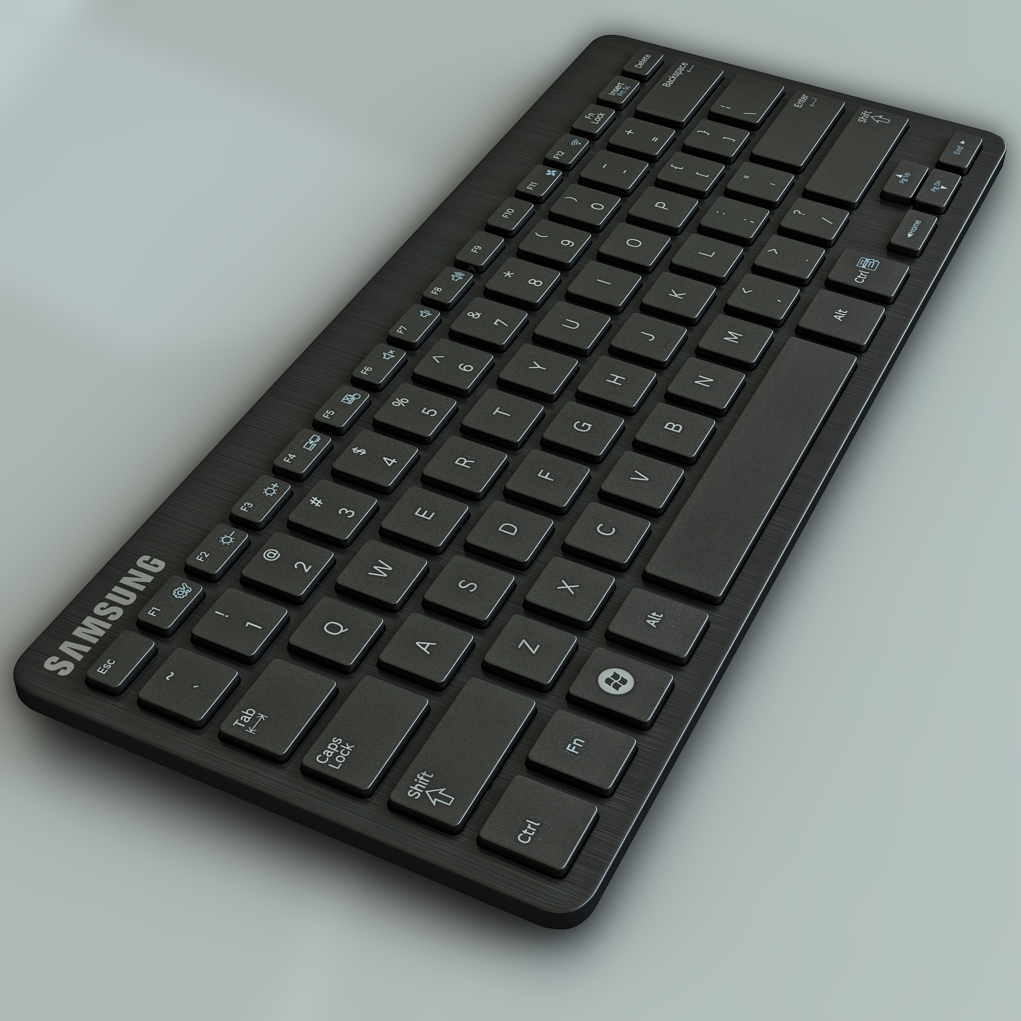 wireless keyboard samsung 3d max