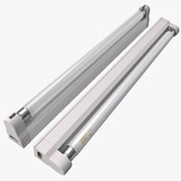 Fluorescent Strip Luminaire
