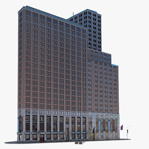 wall street building 3d 3ds