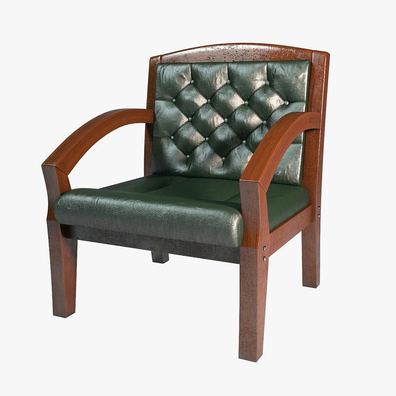 3d furniture old model
