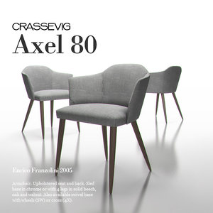 3dsmax axel chair
