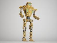 robot 7ag14 3d max