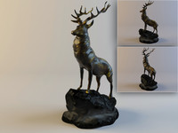 Figurine Red deer
