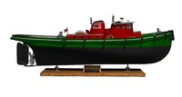 3d tugboat model