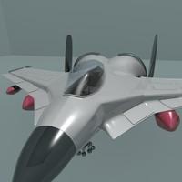 3d ship jet
