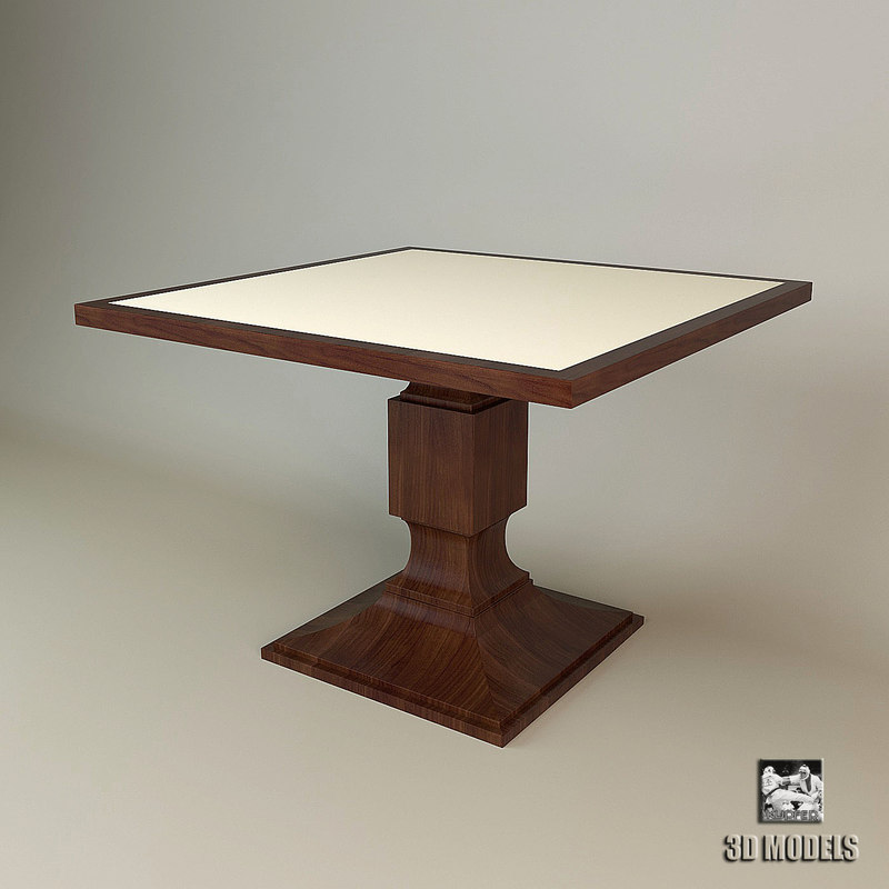 baker dining table 7899 3d max