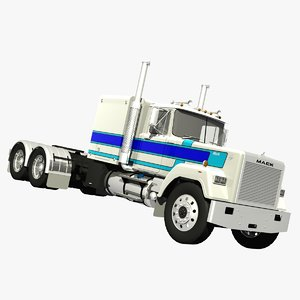 mack superliner truck 60 3d lwo