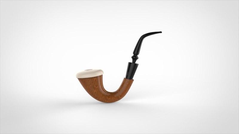 3d model pipe