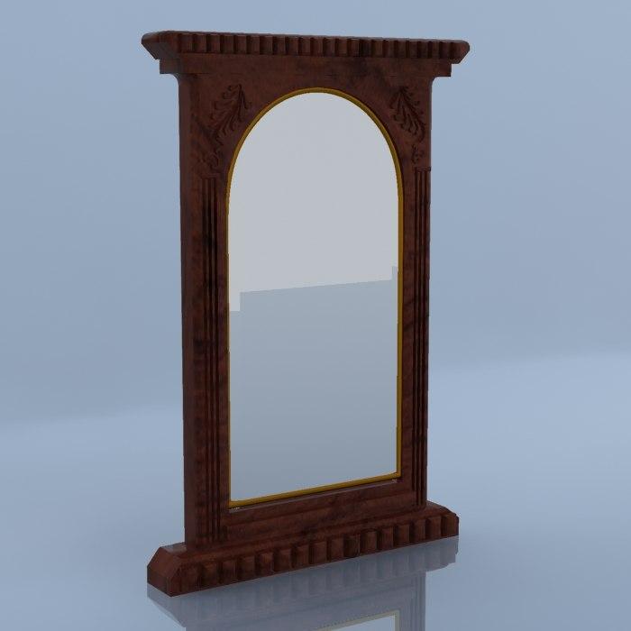 3ds antique mirror