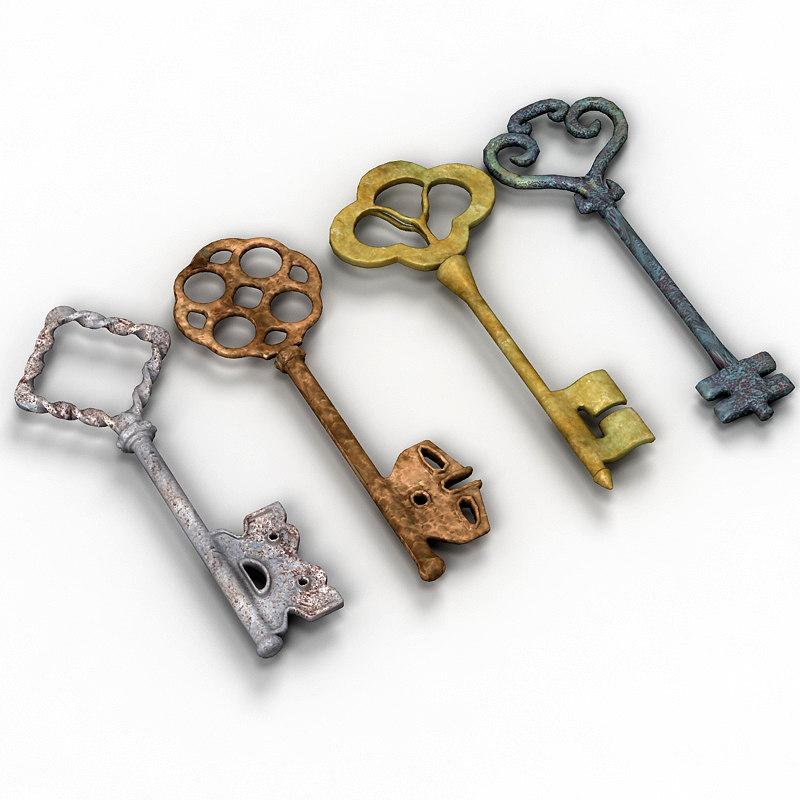 3dsmax Vintage Keys