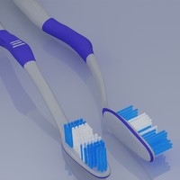 3d modern tooth brush
