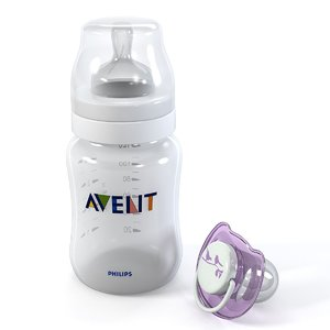baby bottle soother set 3d max