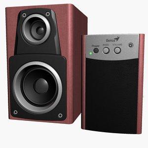 3ds max pc speakers