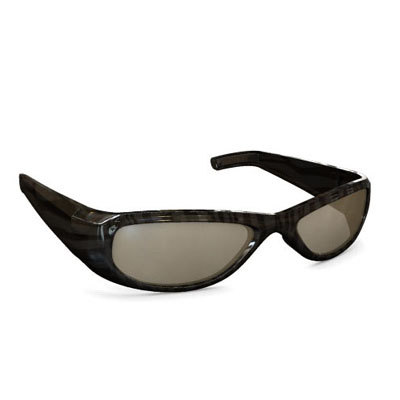 eyeglass 3d obj