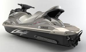 3ds max yamaha sho cruiser