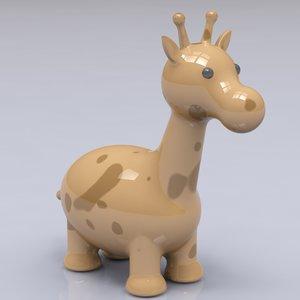 porcelain giraffe figure max
