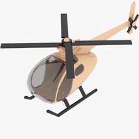 3dsmax helicopter toy