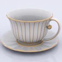 tee cup 3d model