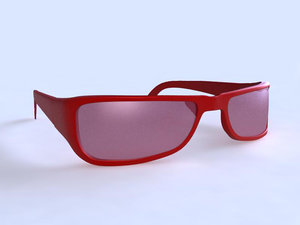 3ds max eye glass