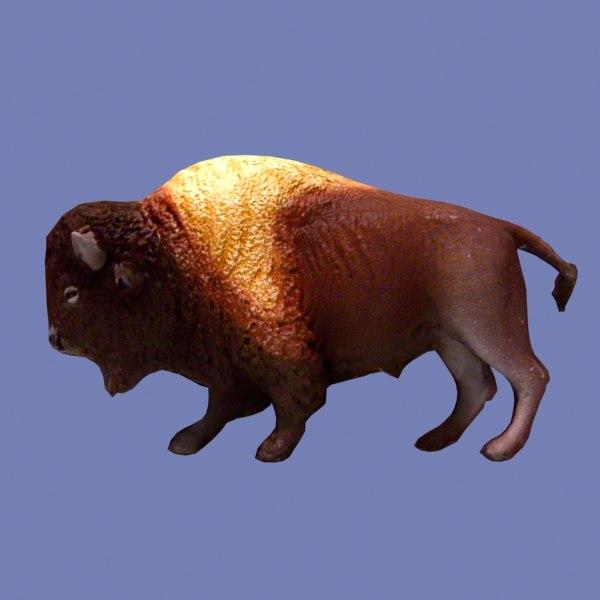 free max model ready bison buffalo