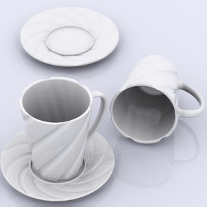 3d 3ds tee cup