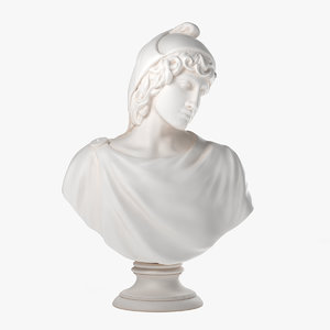 greek ganymede sculpture 3d max