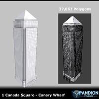 3d 1 canary wharf