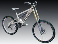 morewood izimu dh bike 3d model