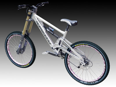 7145ba74b02 morewood izimu dh bike 3d model