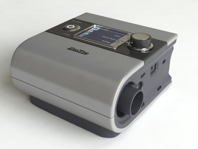 resmed s9 autoset cpap 3d model