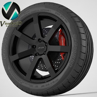 3dsmax wheel corniche challenge