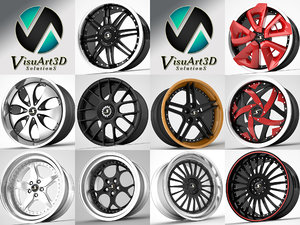 3d model schmidt wheel rims