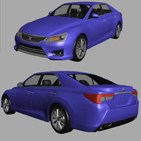 3d toyota mark x