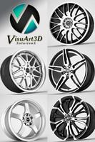 rim wheel barracuda 3d 3ds