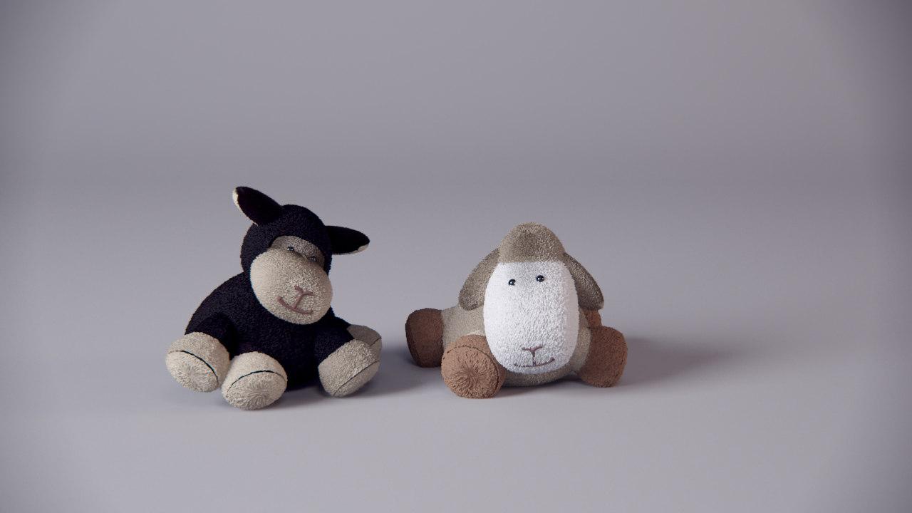 3dsmax cuddly toys