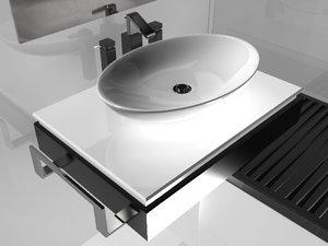 free max model wash basin