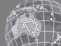 Wire Globe Hexagonal Structure