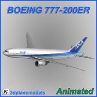 Boeing 777-200ER All Nipon Airways ANA