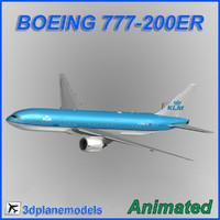 Boeing 777-200ER KLM