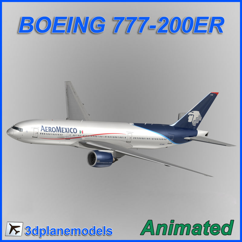 max boeing 777-200er