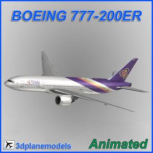 boeing 777-200er 3d 3ds