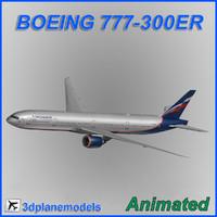 Boeing 777-300ER Aeroflot Russian Airlines