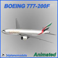 Boeing 777-200F Emirates SkyCargo