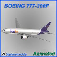 Boeing 777-200F FedEx