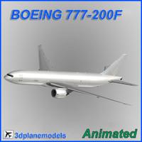 Boeing 777-200F Generic white