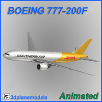 Boeing 777-200F Southern Air DHL