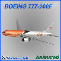 3dsmax boeing 777-200f