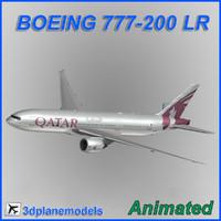 3d boeing 777-200lr